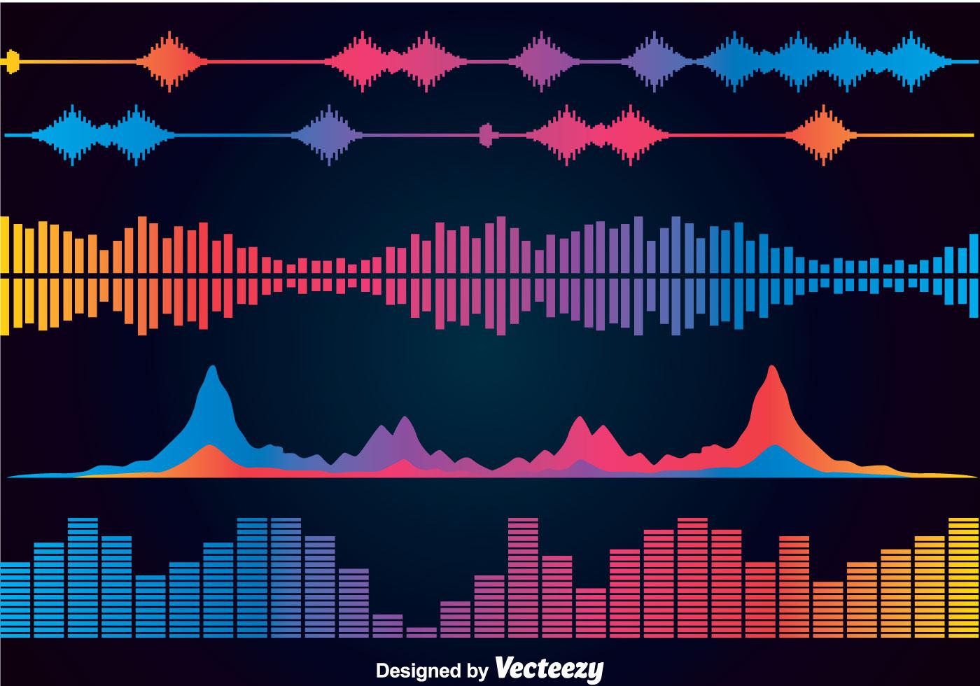Sound Wave Free Vector Art