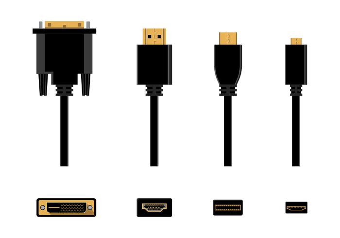 Gratis HDMI Vector