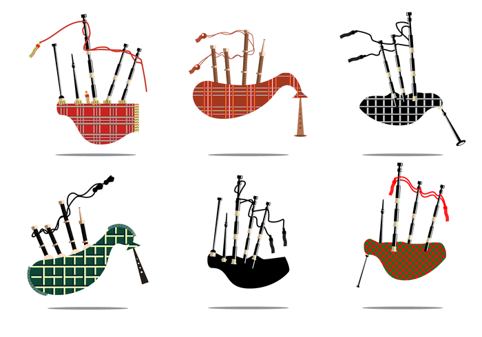Free Bagpipes Vector