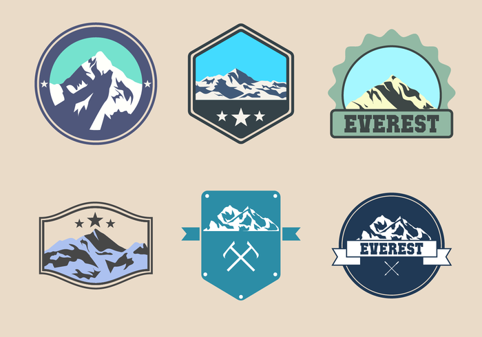 Gratis Everest Logo Vector
