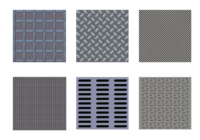 Gratis Manhole Textuur Vector
