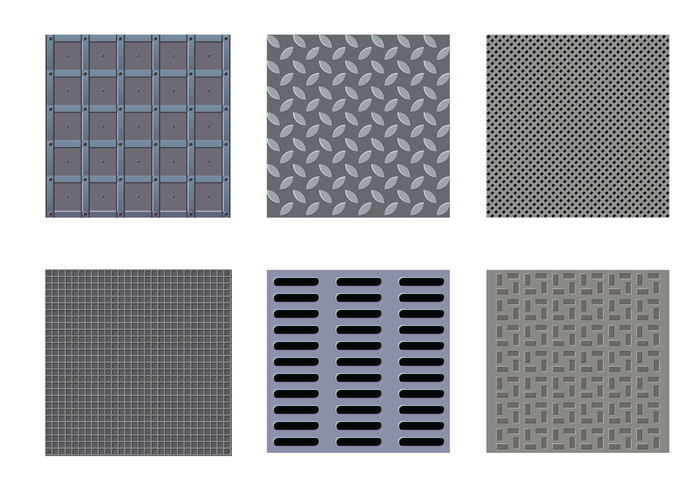 Free Manhole Texture Vector