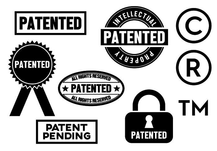 Free Patent Vector