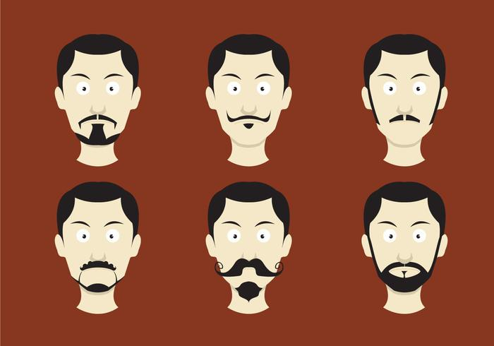 Movember Mustache Vectors