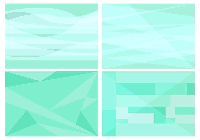 Free Green Background Vector #1