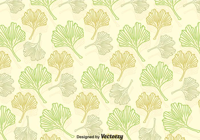 ginkgo leaves pattern download free vector art stock graphics