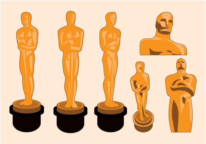 Oscar Estatua Vector