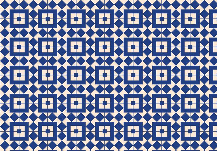 Blue Geometric Pattern Background