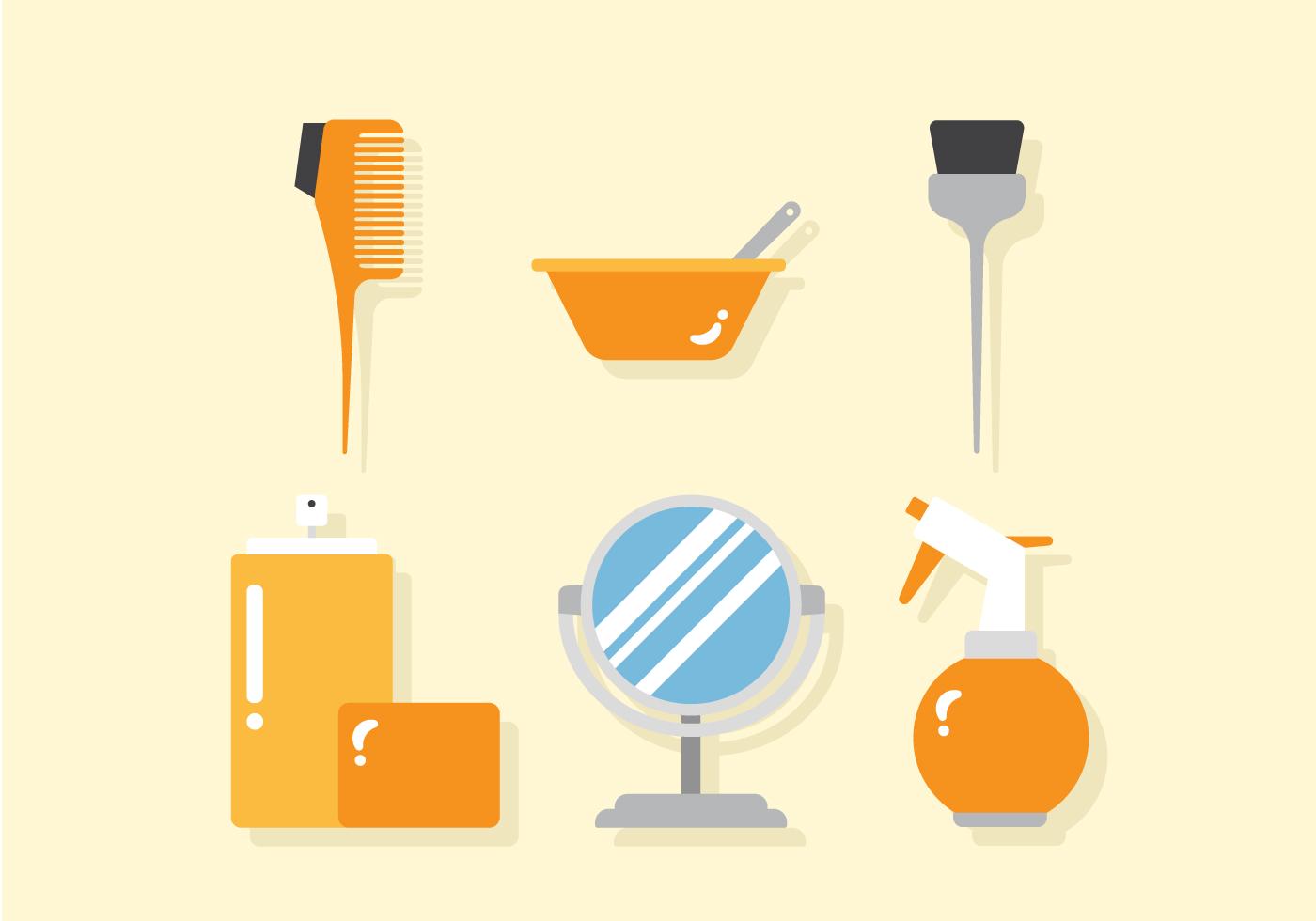 Vector Barber Tools Download Free Vector Art Stock