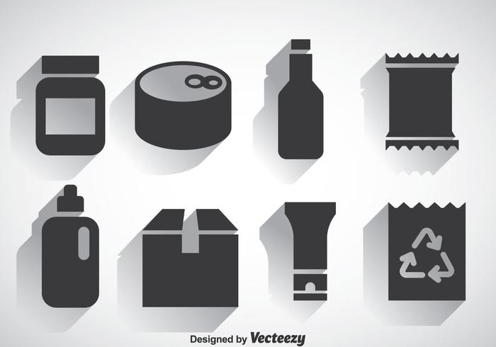 Package Set Icons Vectors