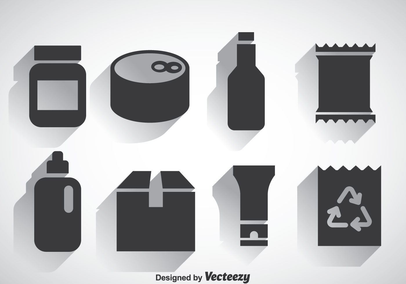 Package Set Icons Vectors Download Free Vector Art