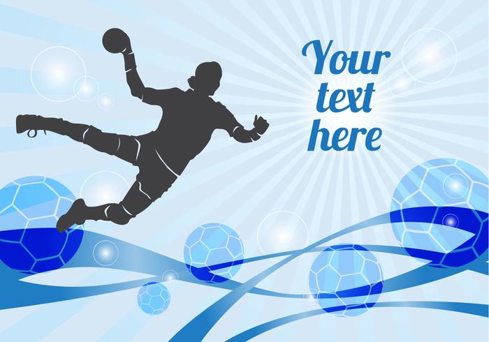 Free Handball Player Vector