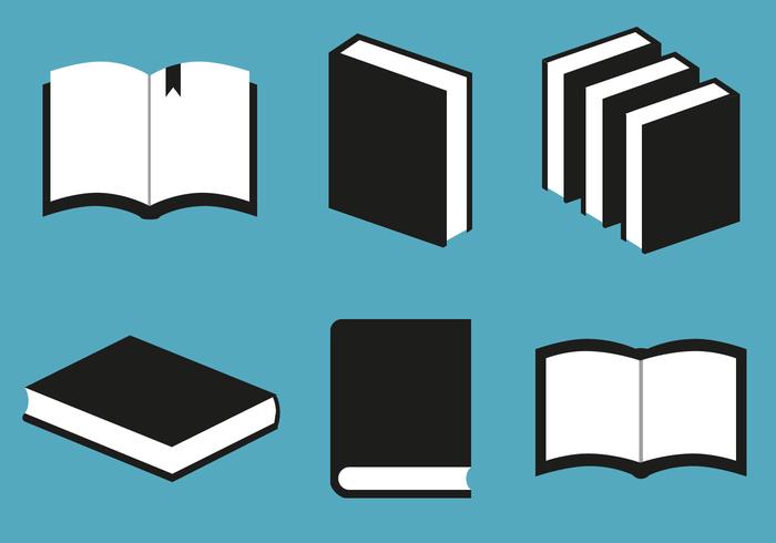 Kostenlose Bücher Vektor