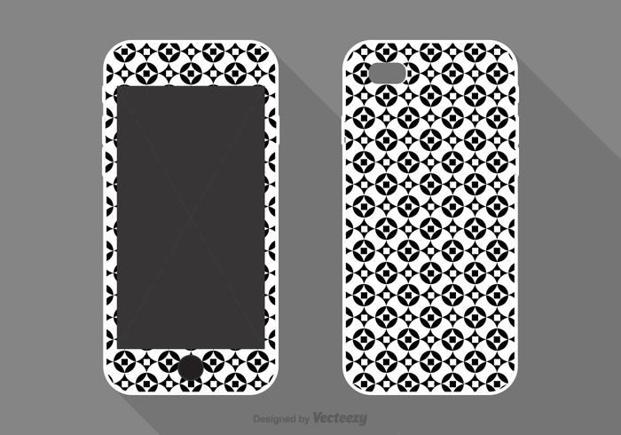 Free Vector Phone Case Geometric Design