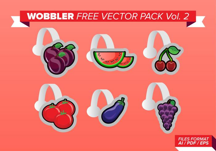 Wobbler Free Vector Pack Vol. 2