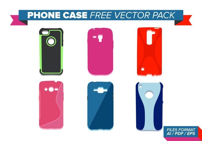 Étui téléphonique Free Vector Pack