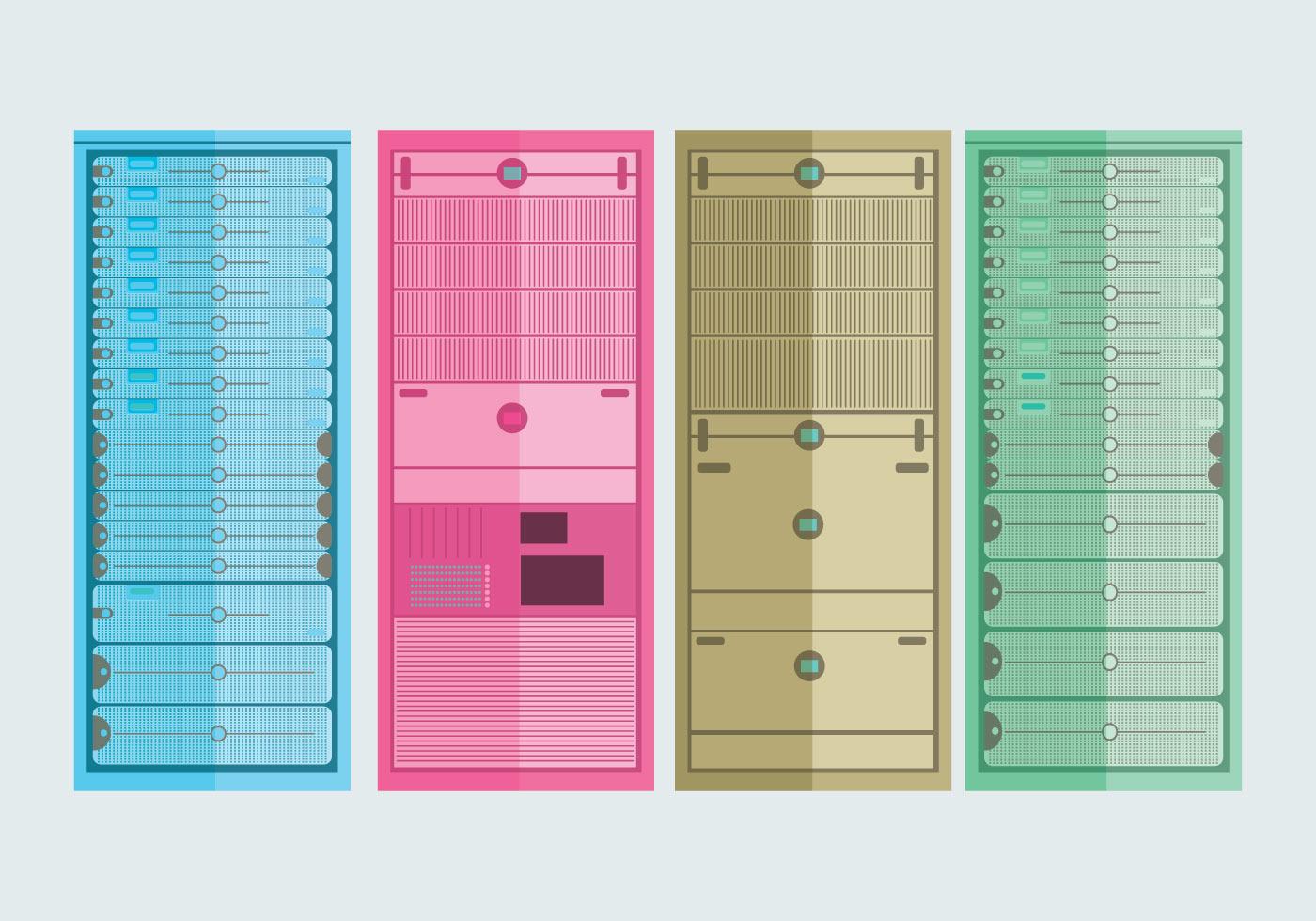 Server Rack Vector Download Free Vector Art Stock