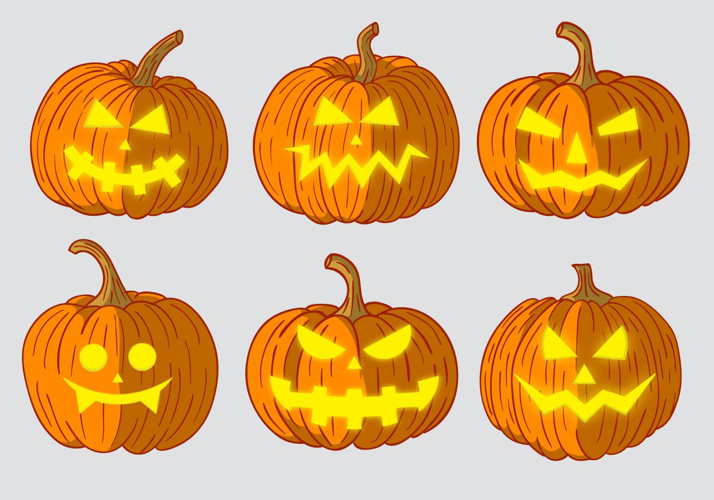 Scary Pumpkin Head Vectors - Download Free Vector Art, Stock ...