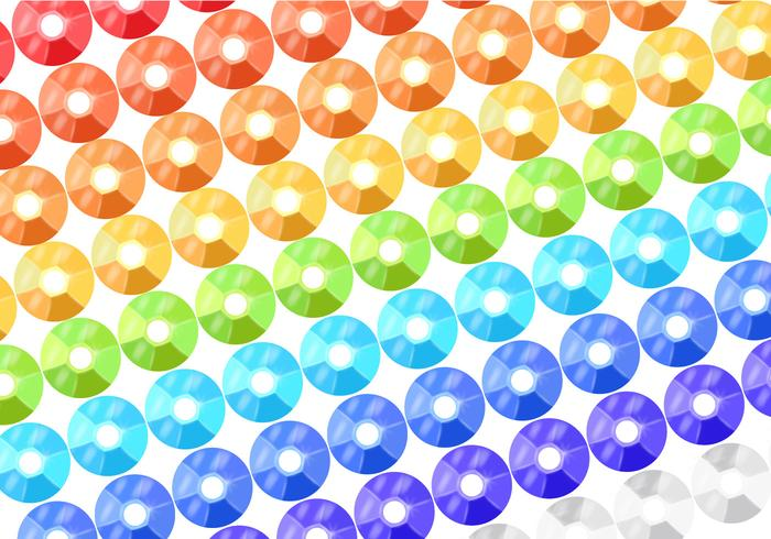 Colorful Sequin Background Vector