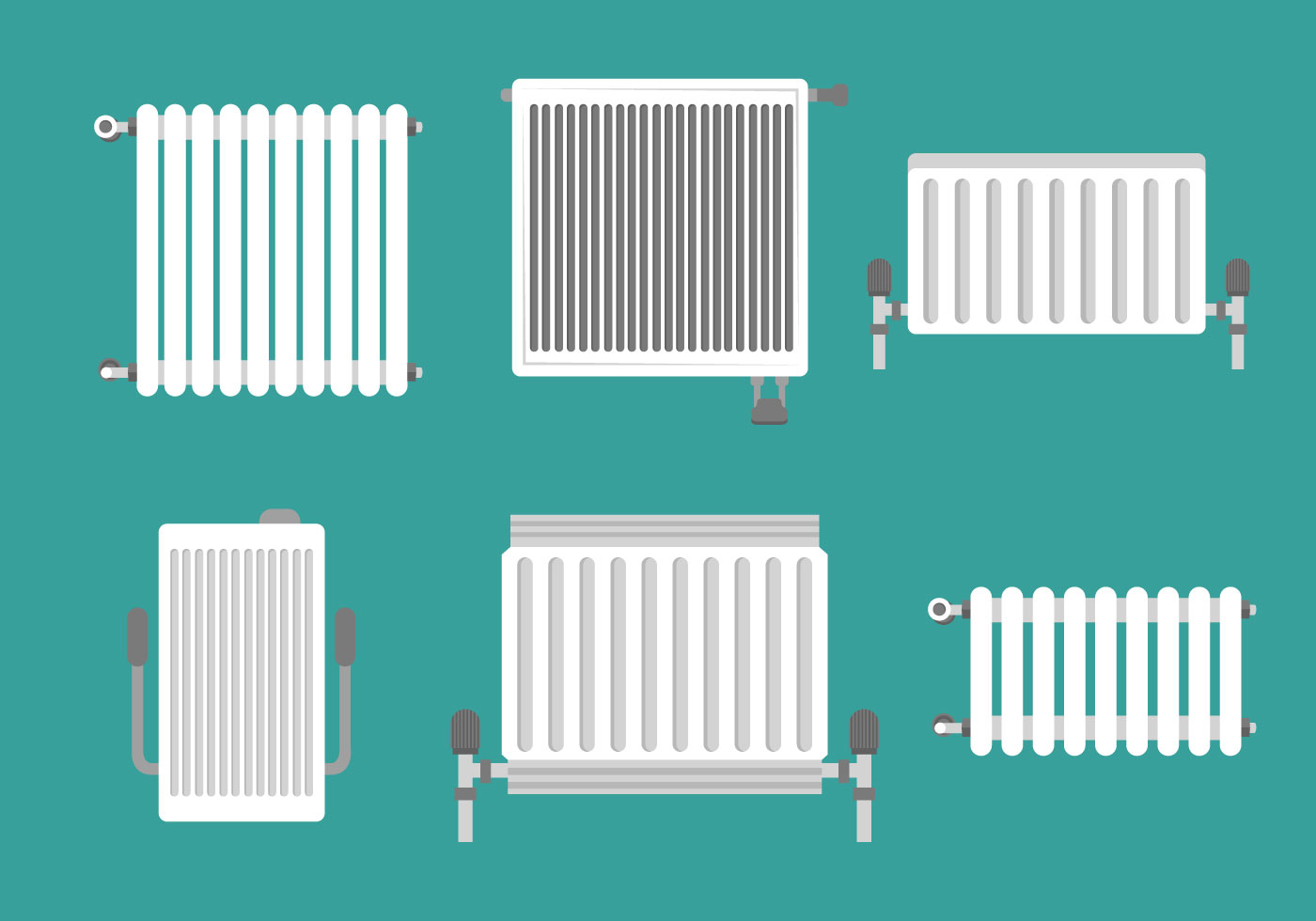Radiator Vectors - Download Free Vector Art, Stock Graphics & Images