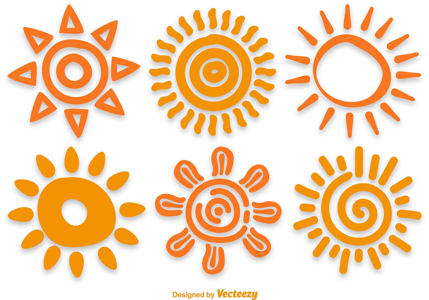 vector sun - photo #36