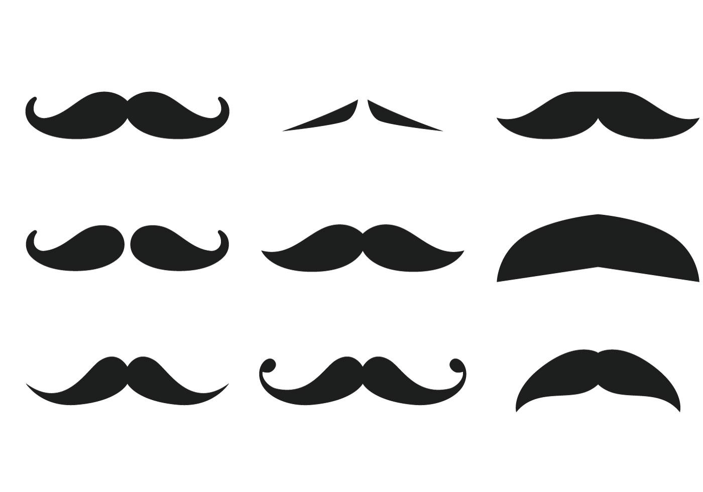 Colección Mustache Descargue Gráficos Y Vectores Gratis