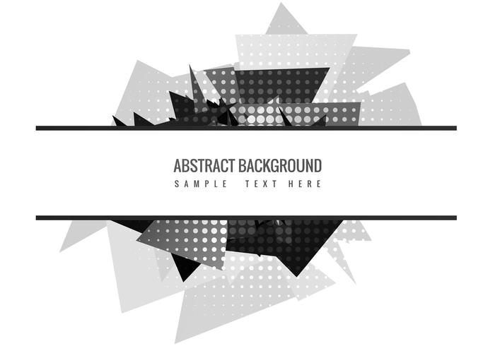 Free Abstract Polygon Vector Background