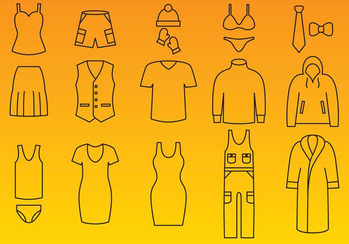 Clothes Icon Vectors