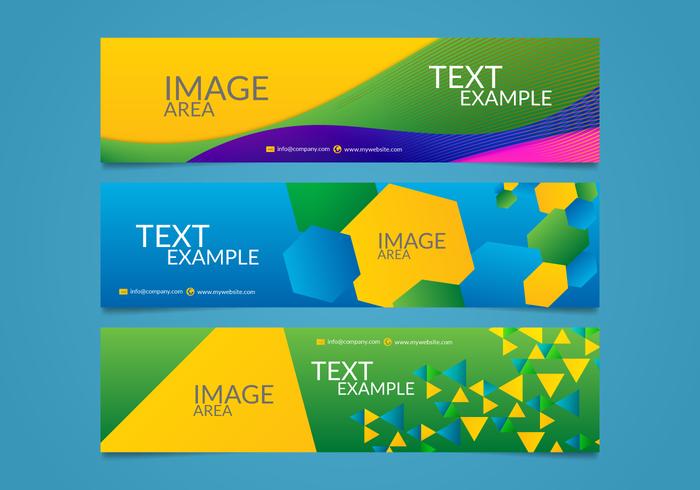 Brasil Olympics Banner Vectorial Editable
