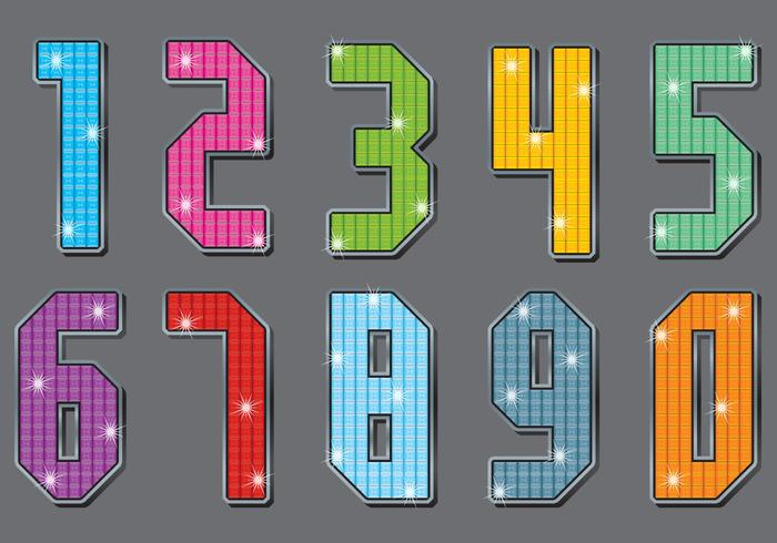 Strass Number Vectors
