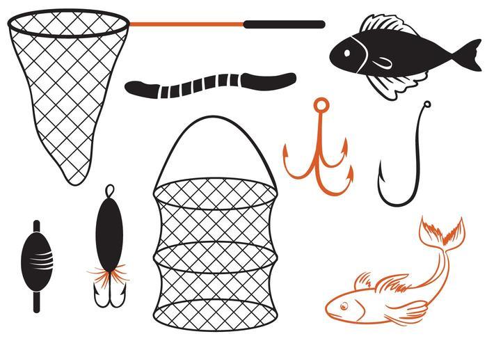 Libre Pesca 2 Vectores