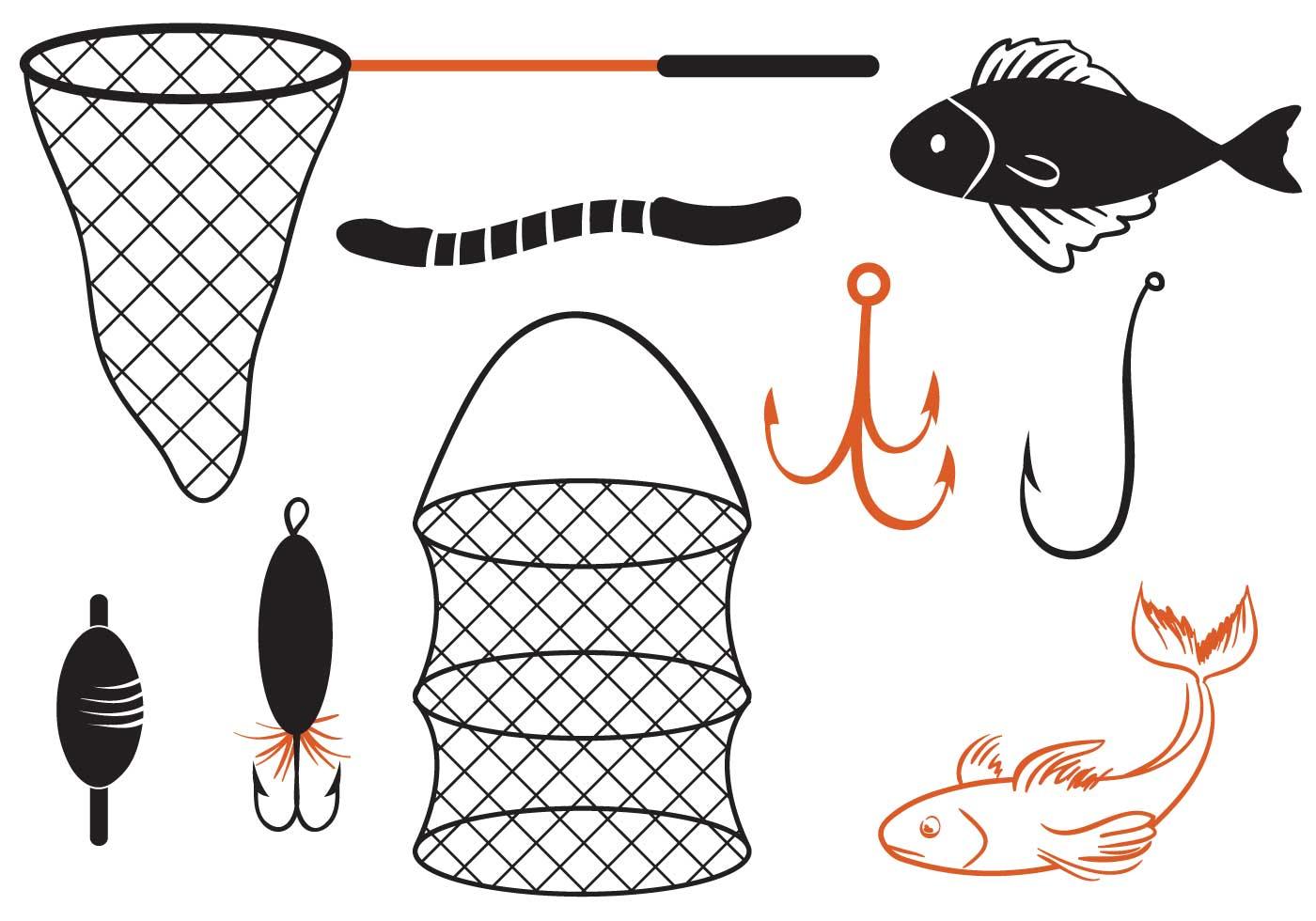 fishing net vector - photo #35