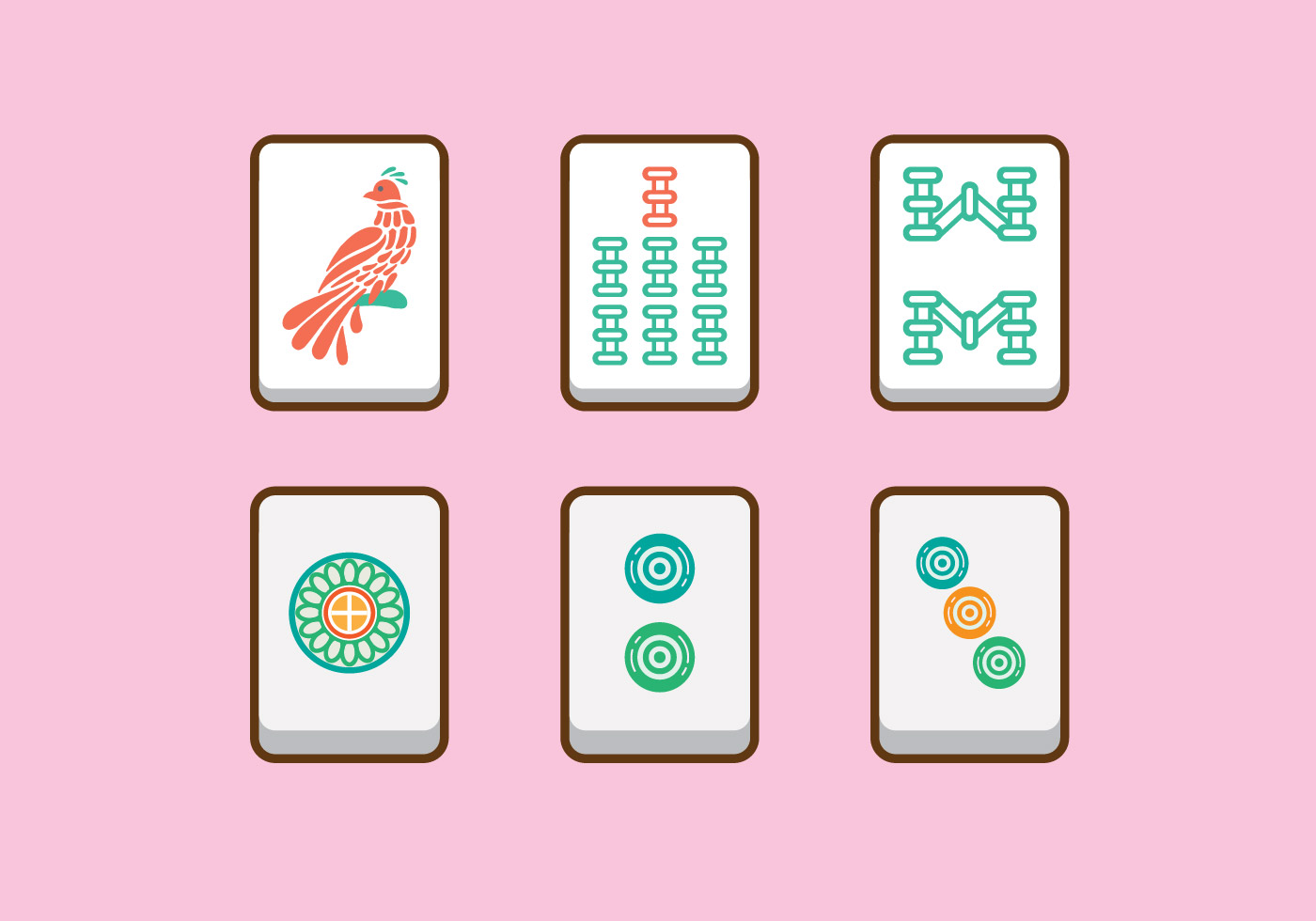 Mahjong Vector - Download Free Vectors, Clipart Graphics