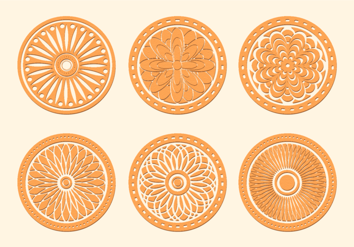 Free ornamental mandala vector download free vector art stock - Free Vector Laser Cut Wood Coasters Download Free Vector