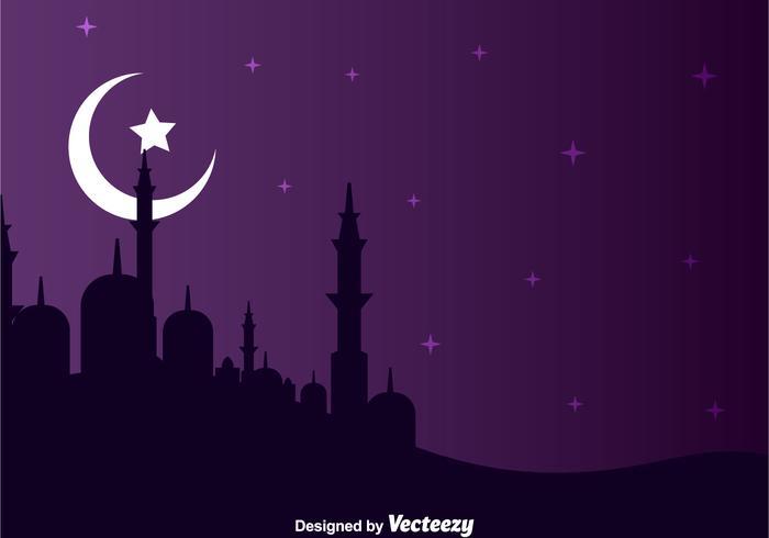 Arabian Night Landscape
