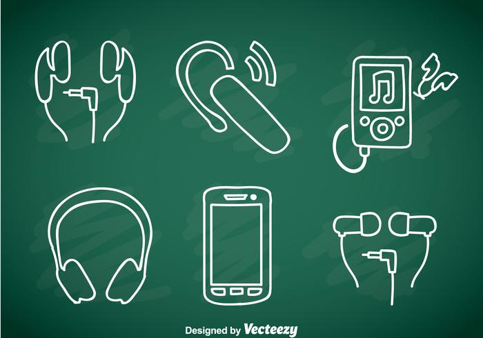 Music Player Element Doddle Icons