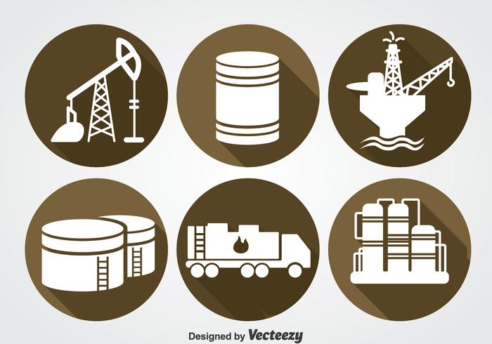 Oil Industry Icons Sets
