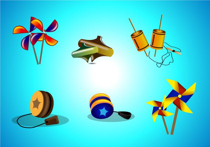 Traditional Toys Vector
