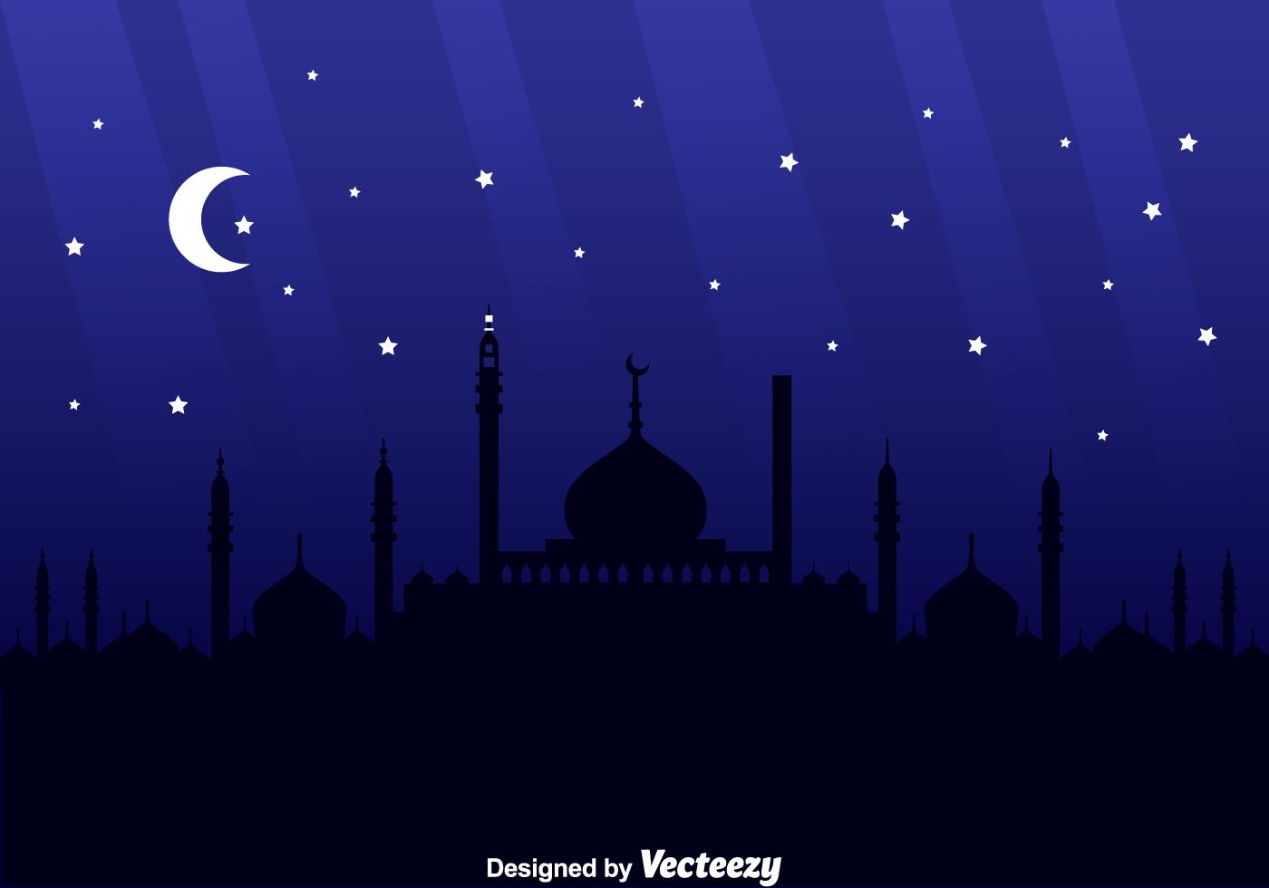 Arabian Night Background - Download Free Vector Art, Stock ...
