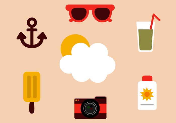 Gratis Holiday Elements Vector