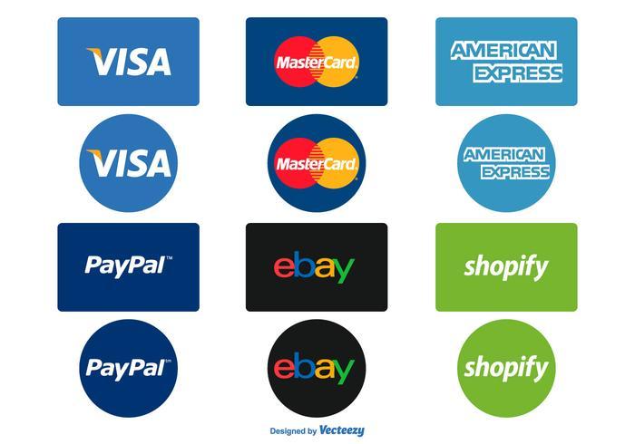 Opciones de pago Icon Set
