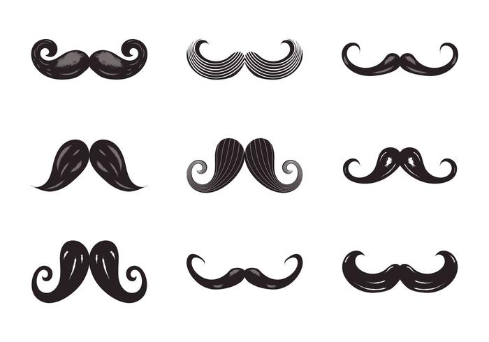 Free Movember Vector Illustration