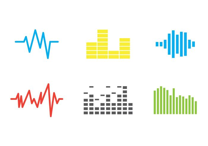 Free Sound Bars Vector #1