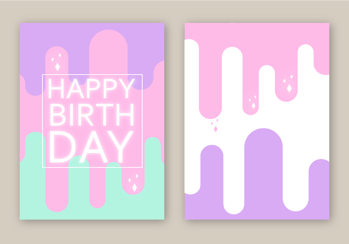 Free Birthday Card Vector