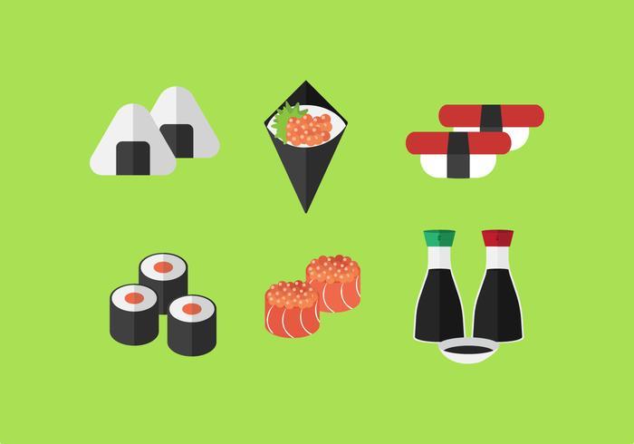 Sushi vetorial