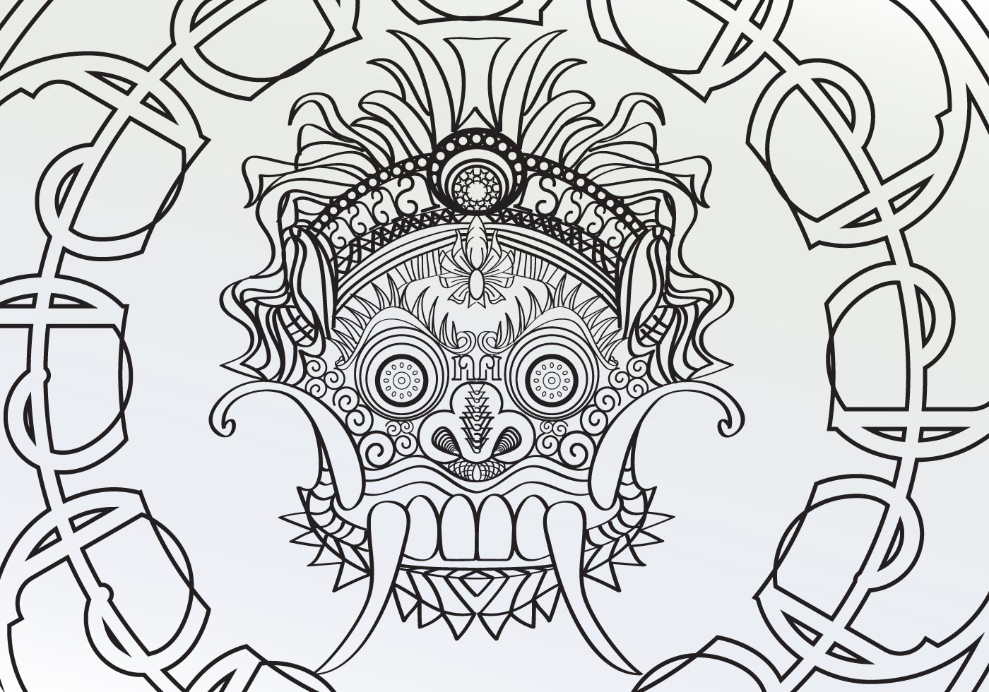 free vector adult coloring pages