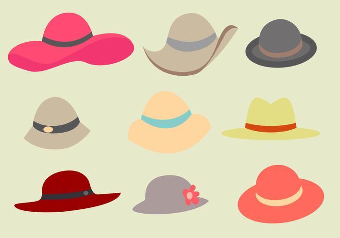 Free Ladies Hat Vector