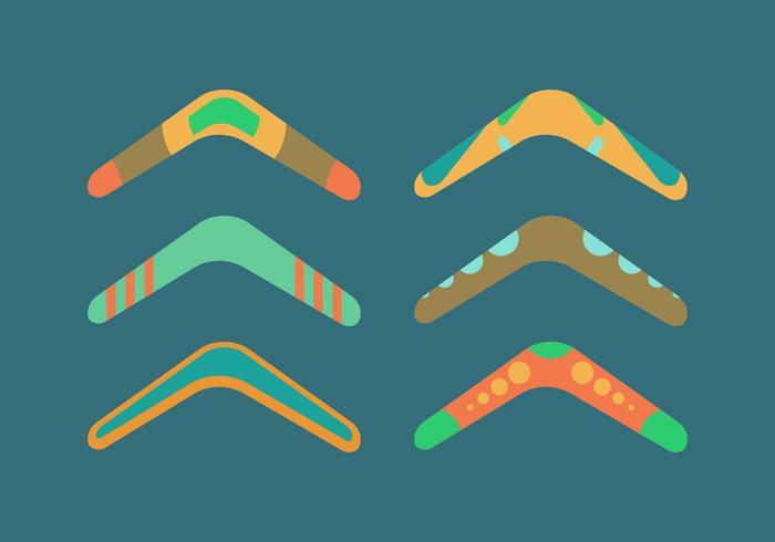 Free Boomerang Vector Pack