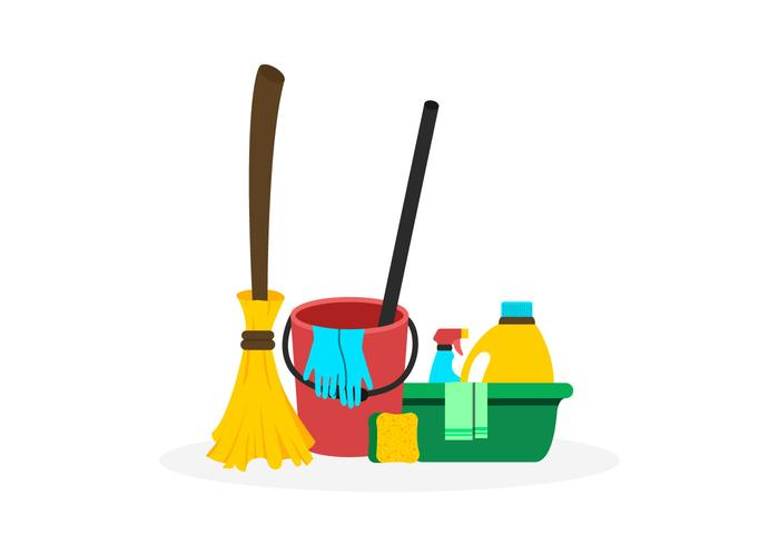 Spring Cleaning Vectors