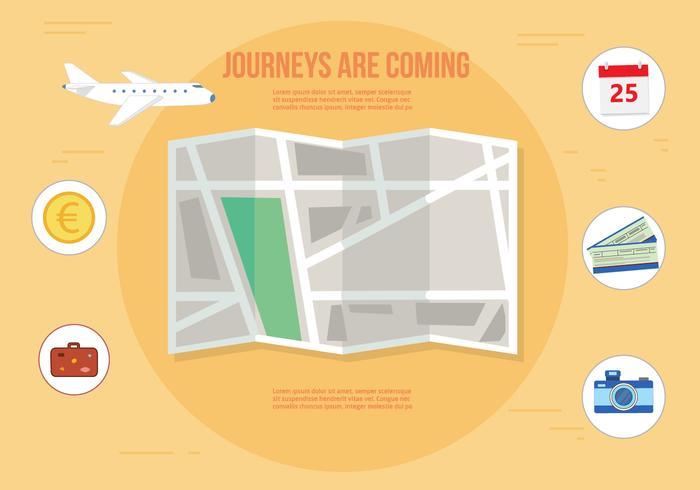 Free Journey Vector Illustration